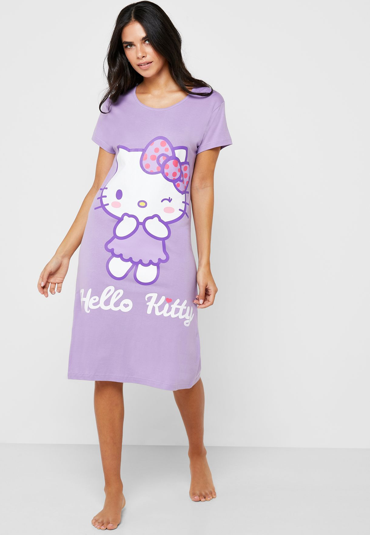 Hello Kitty Graphic Nightdress