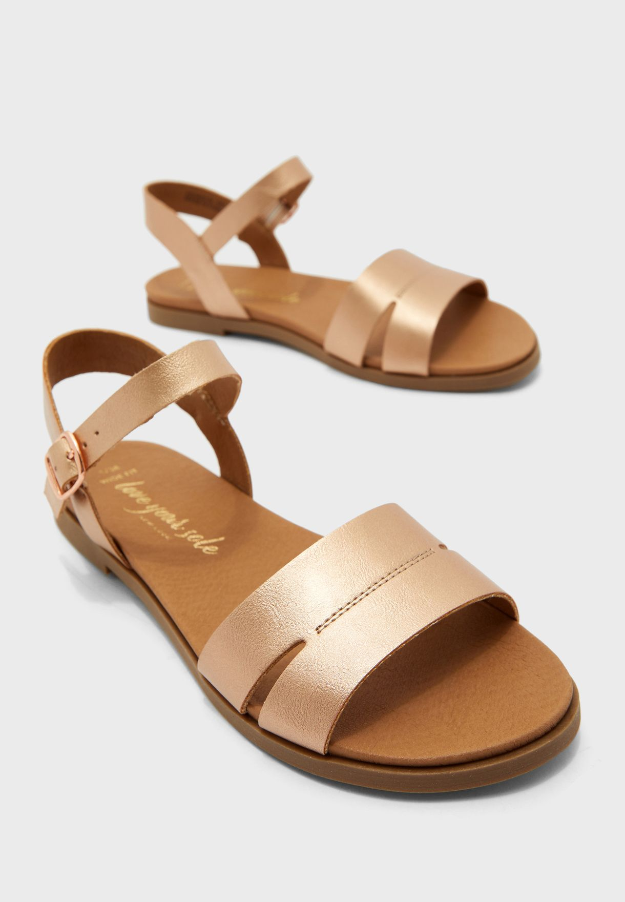 Wide Fit Great Flat Sandal
