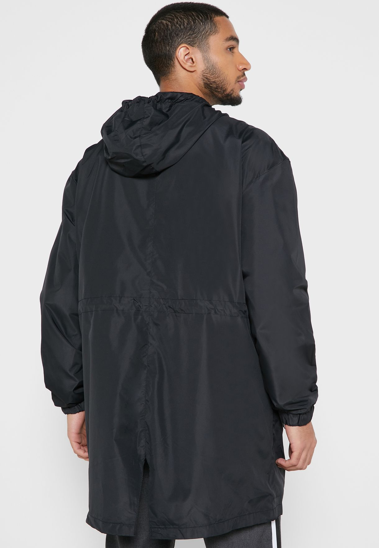 Hooded Oversized Parka