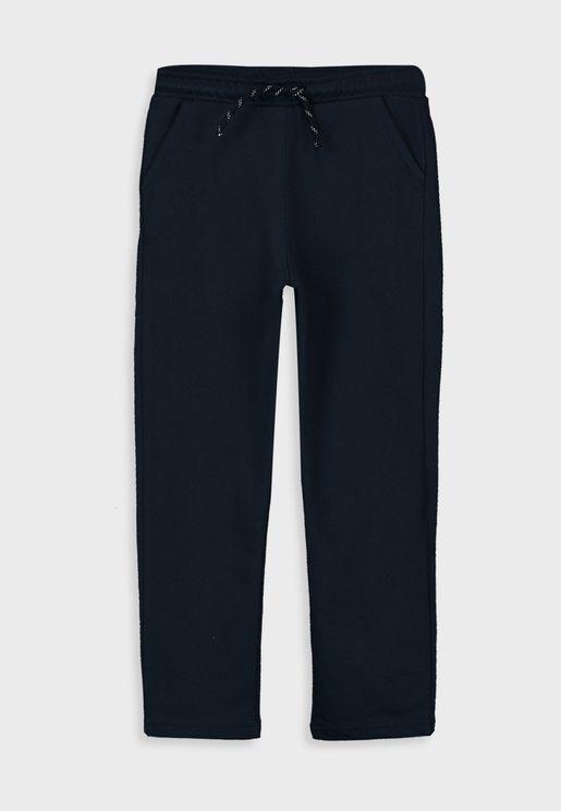 Kids Tie Waist Detail Sweatpants