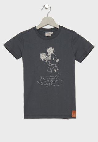 7e6cafe53bf2 Shop Wheat yellow Little Ironman T-Shirt 2022-815 for Kids in Oman ...