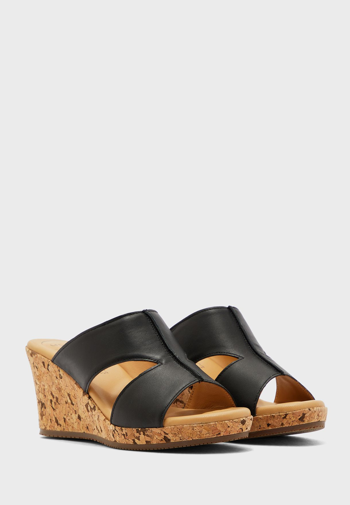 Mule Wedge Sandal