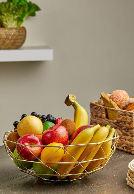 Diamond Cut Fruit Bowl
