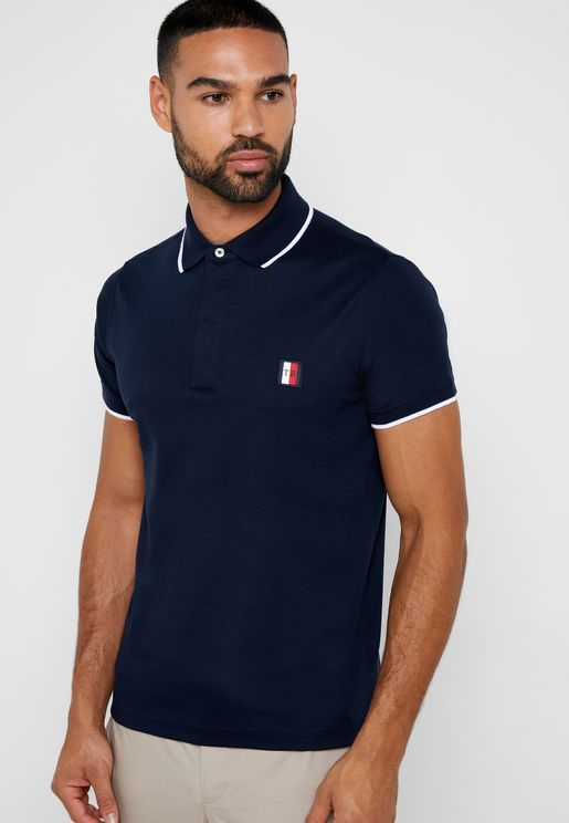 Sophisticated Contrast Edge Polo