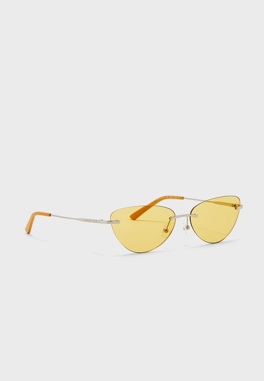 Ck19124S Oval Shape Sunglasses