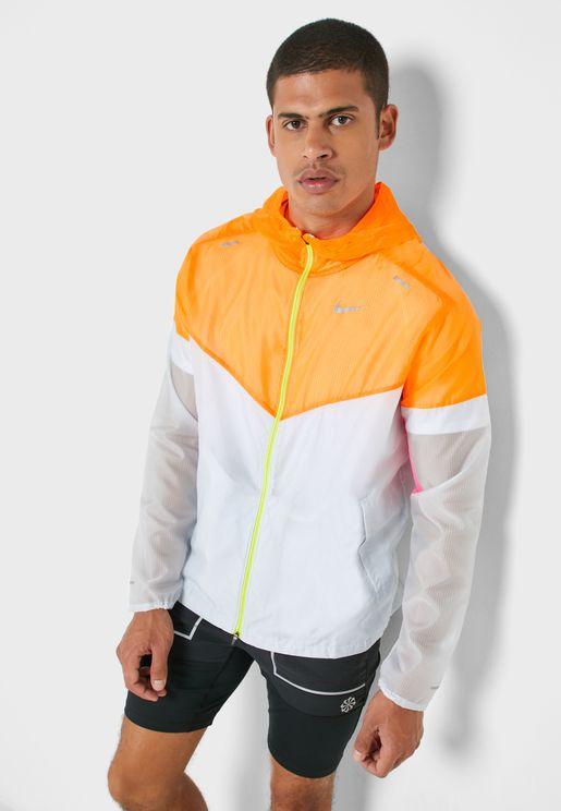 Colour Block Windrunner Jacket