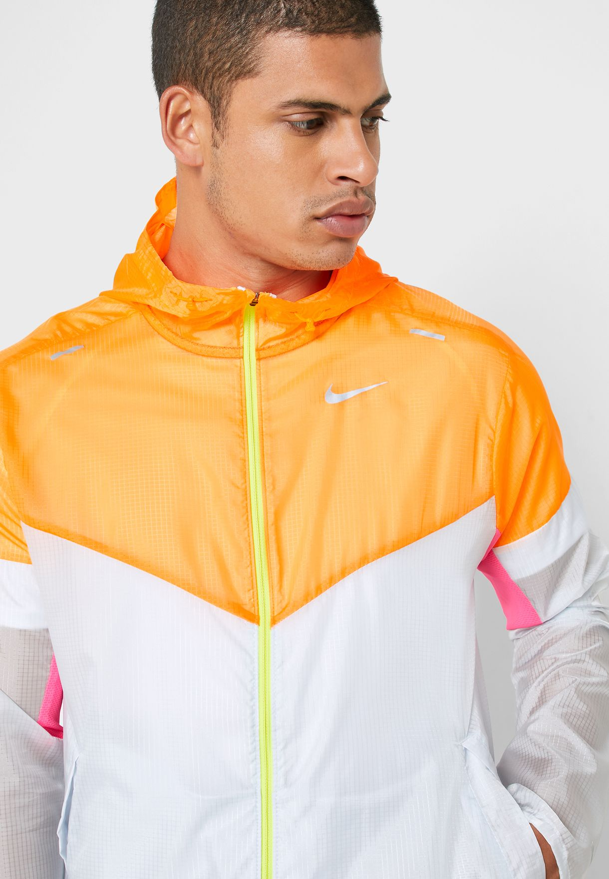 Colour Block Windrunner Jacket