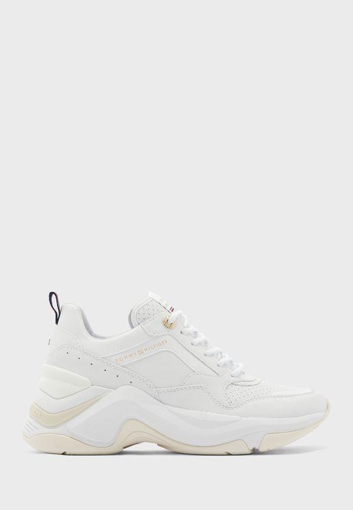 Feminine Internal Wedge Sneaker