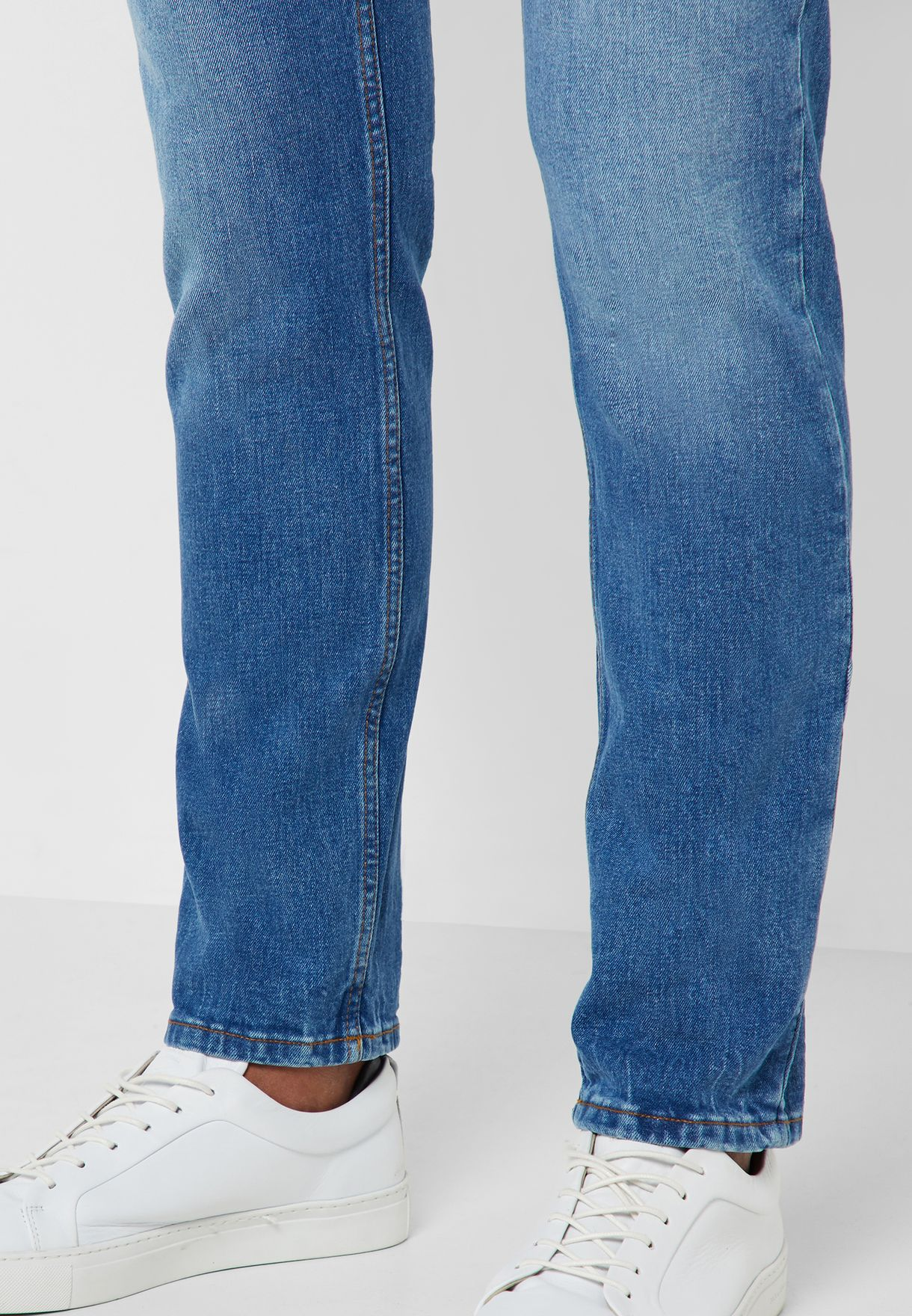 Jan Mid Wash Slim Fit Jeans