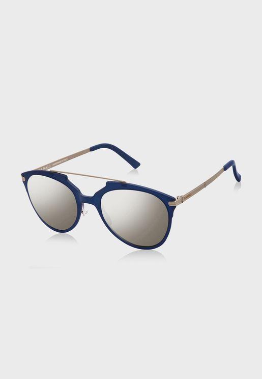L CO21303 Round Sunglasses