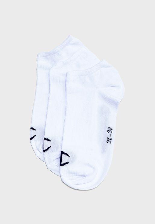3 Pack Legacy No Show Socks