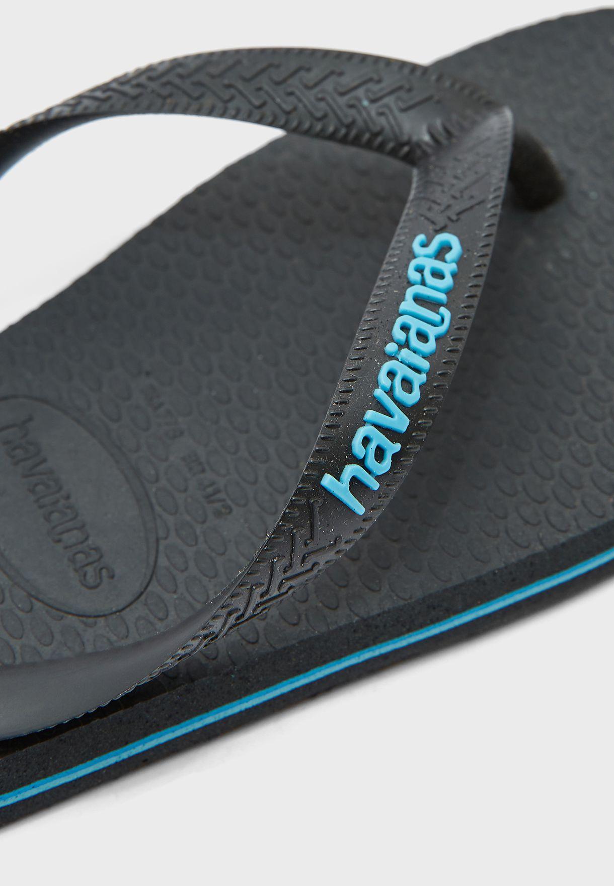 Slim Logo Flip Flops