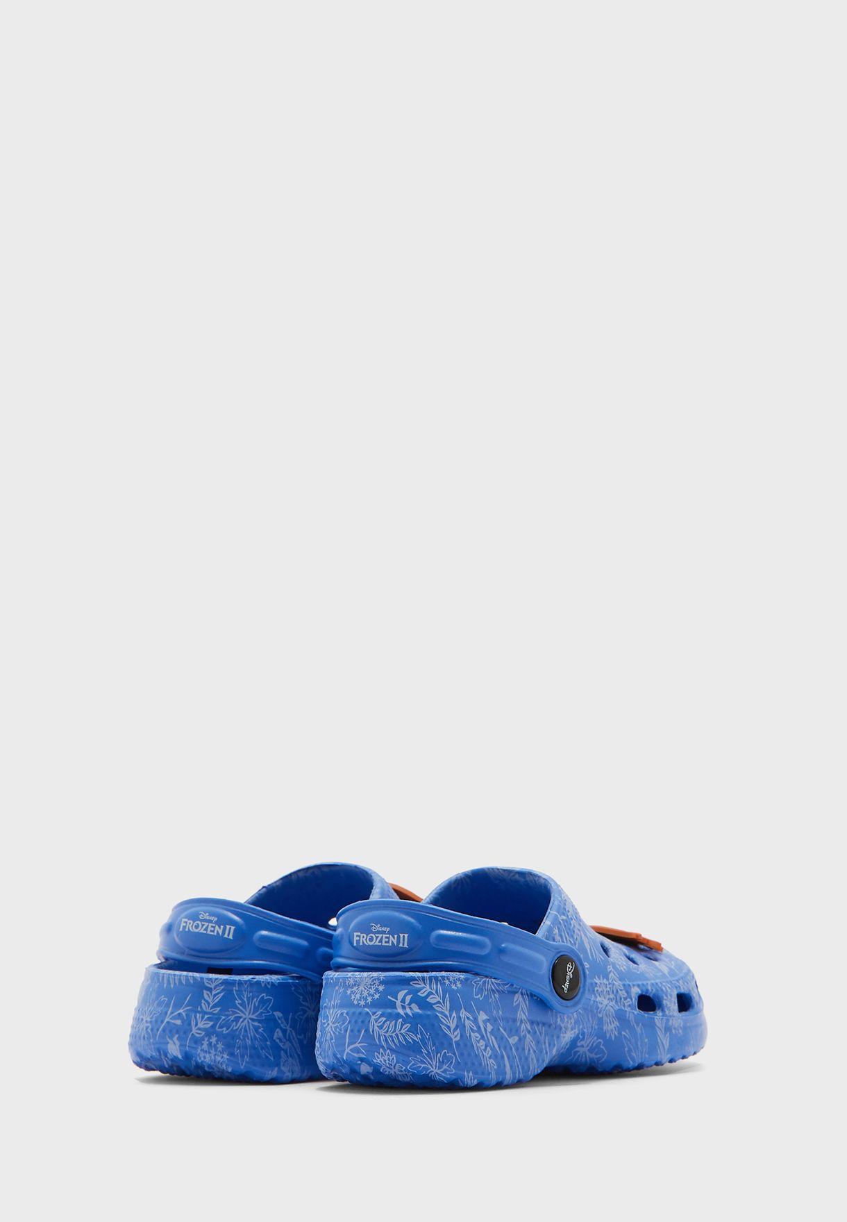 Kids Frozen Clog Sandal