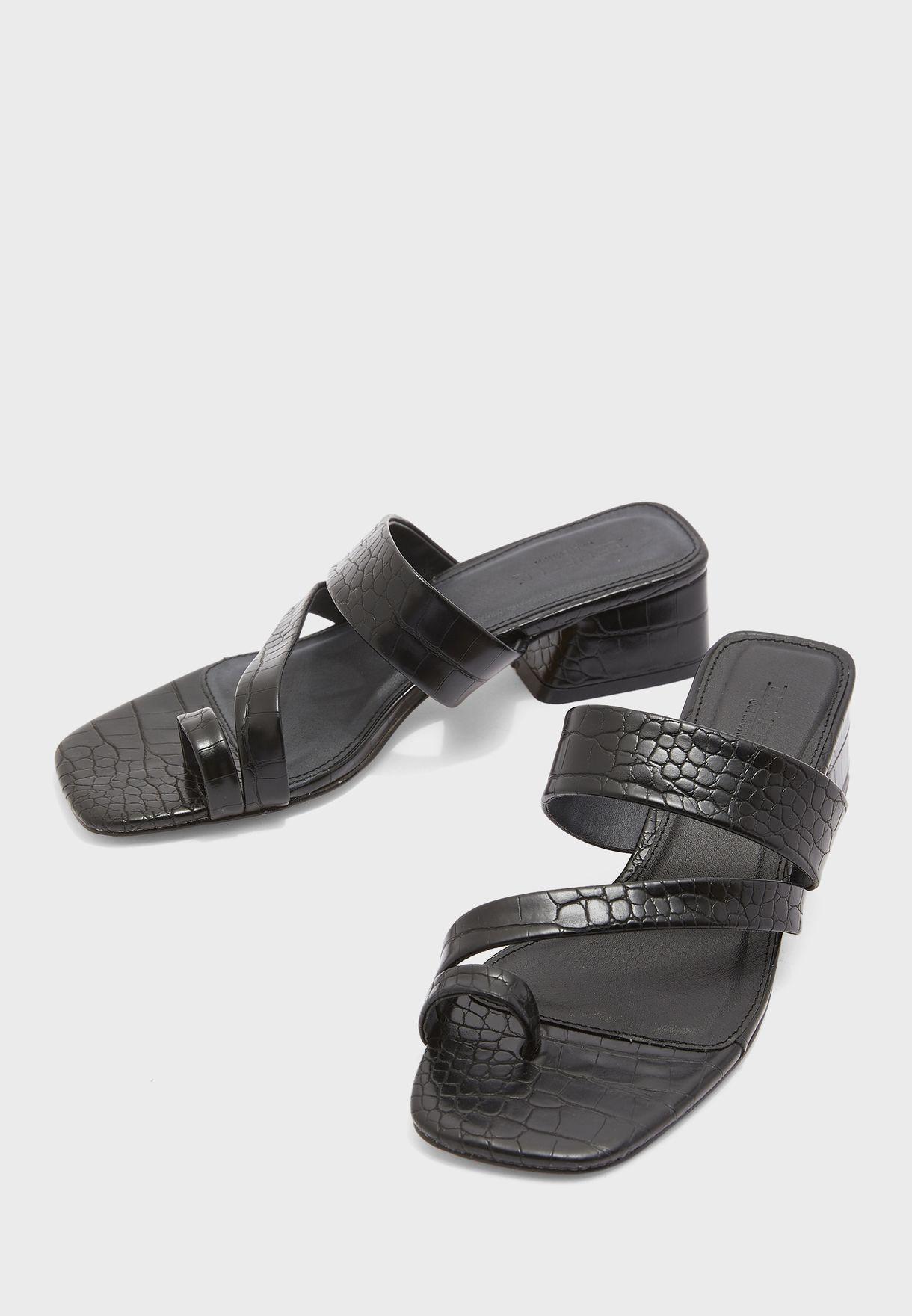Croc Mule Sandals