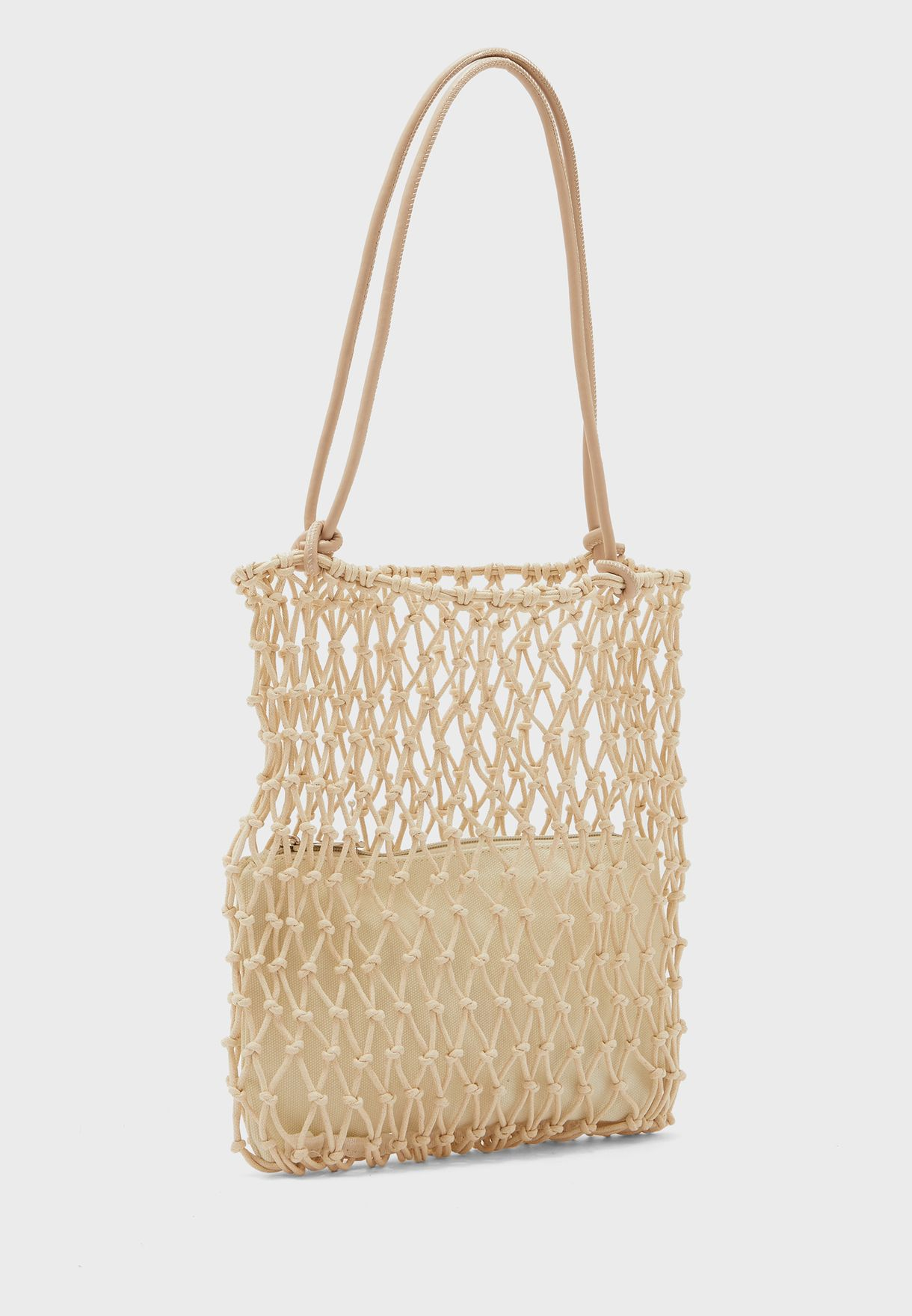 Net Shopper with Pouch