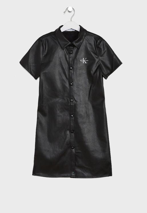 Kids Shirt Dress