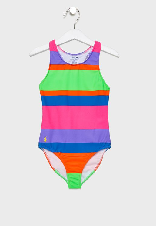 Little Striped Swimsuit