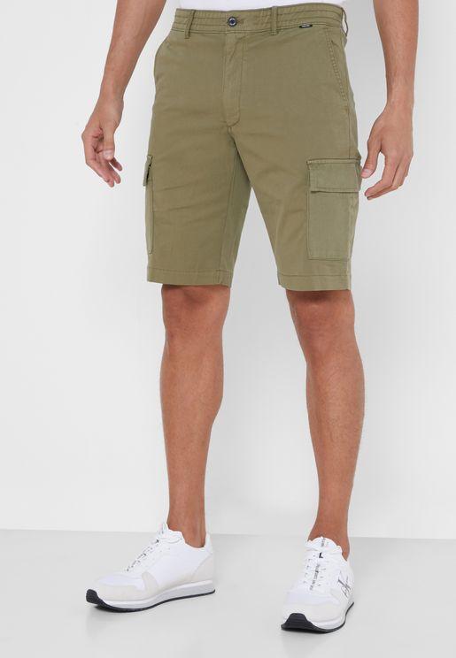 Dyed Cargo Shorts