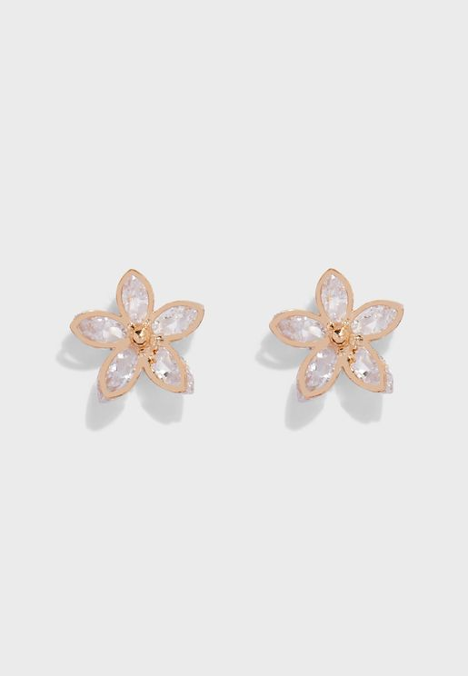 Jeraebeth Pierced Stud Earrings