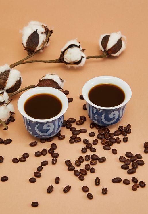 Gift Box of 2 Ghida Arabic Coffee Cups