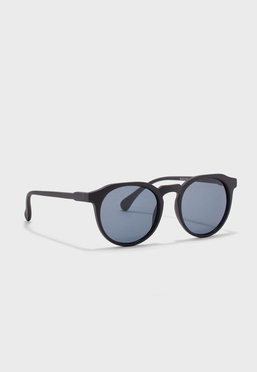 Okulary Round Sunglasses