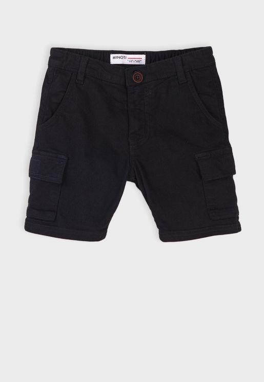 Kids Basic Combat Shorts