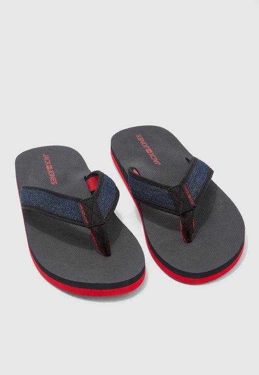 Bivoni Denim Flip Flops