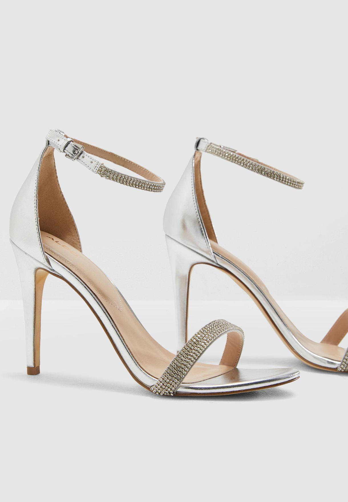 5b962da2499a Shop Aldo silver Aroclya Sandal AROCLYA81 for Women in UAE - 17704SH81DQP