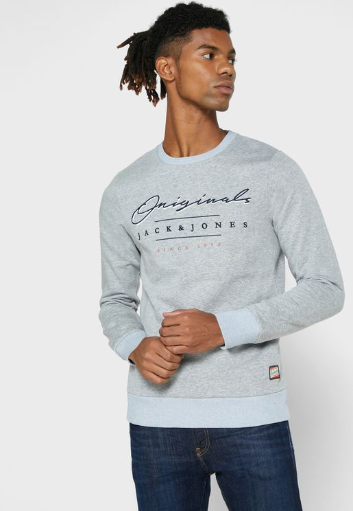 Logo Slim Fit Sweatshirt