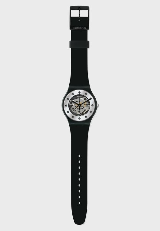 Skeleton Analog Watch