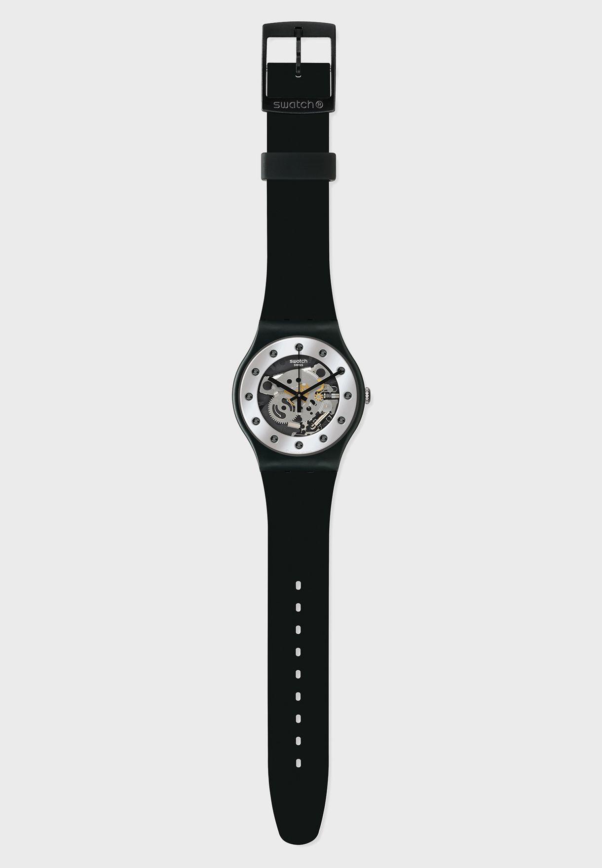 Skeleton Analog Watch