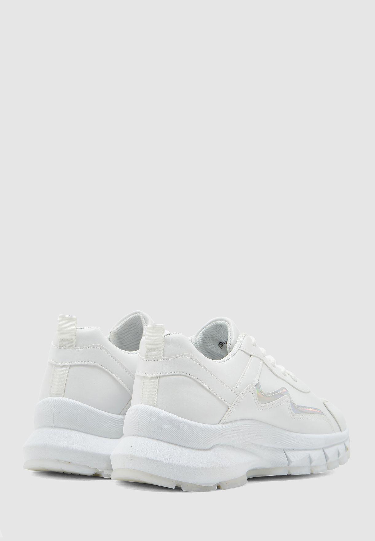 Side Detail Chunky Sneaker
