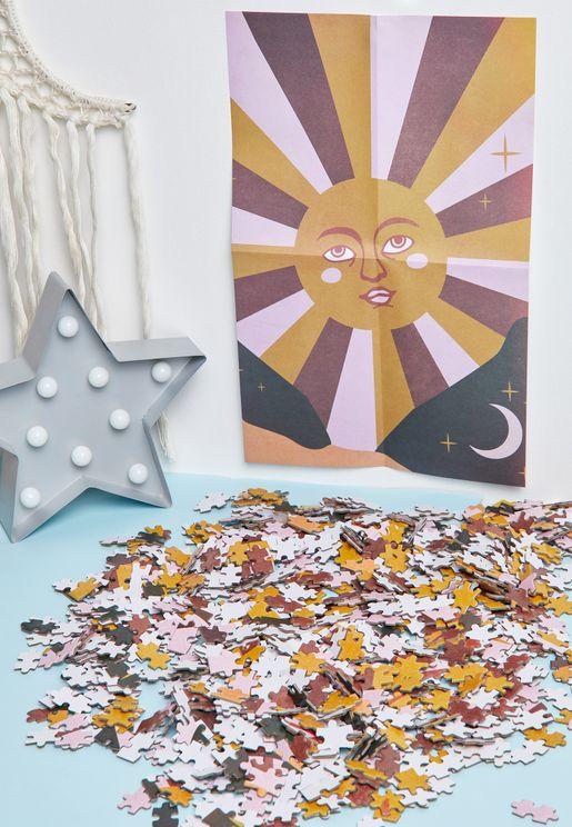 Retro Sun 1000 Piece Puzzle