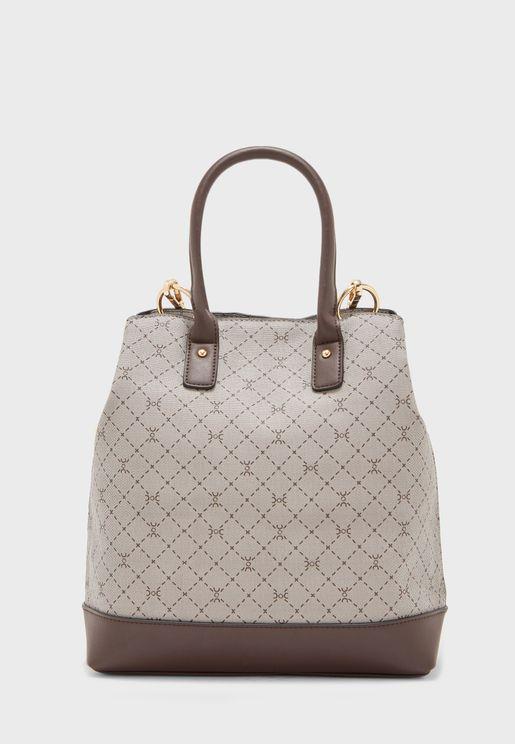 Side Zip Detail Backpack