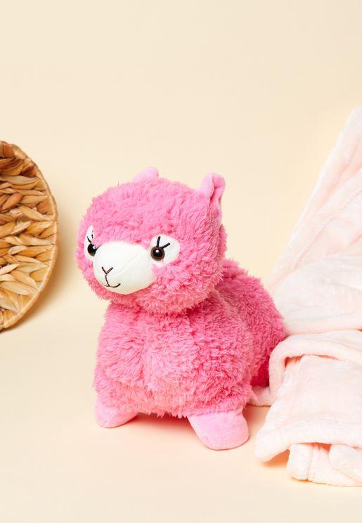 Microwaveable Cozy Llama Hottie
