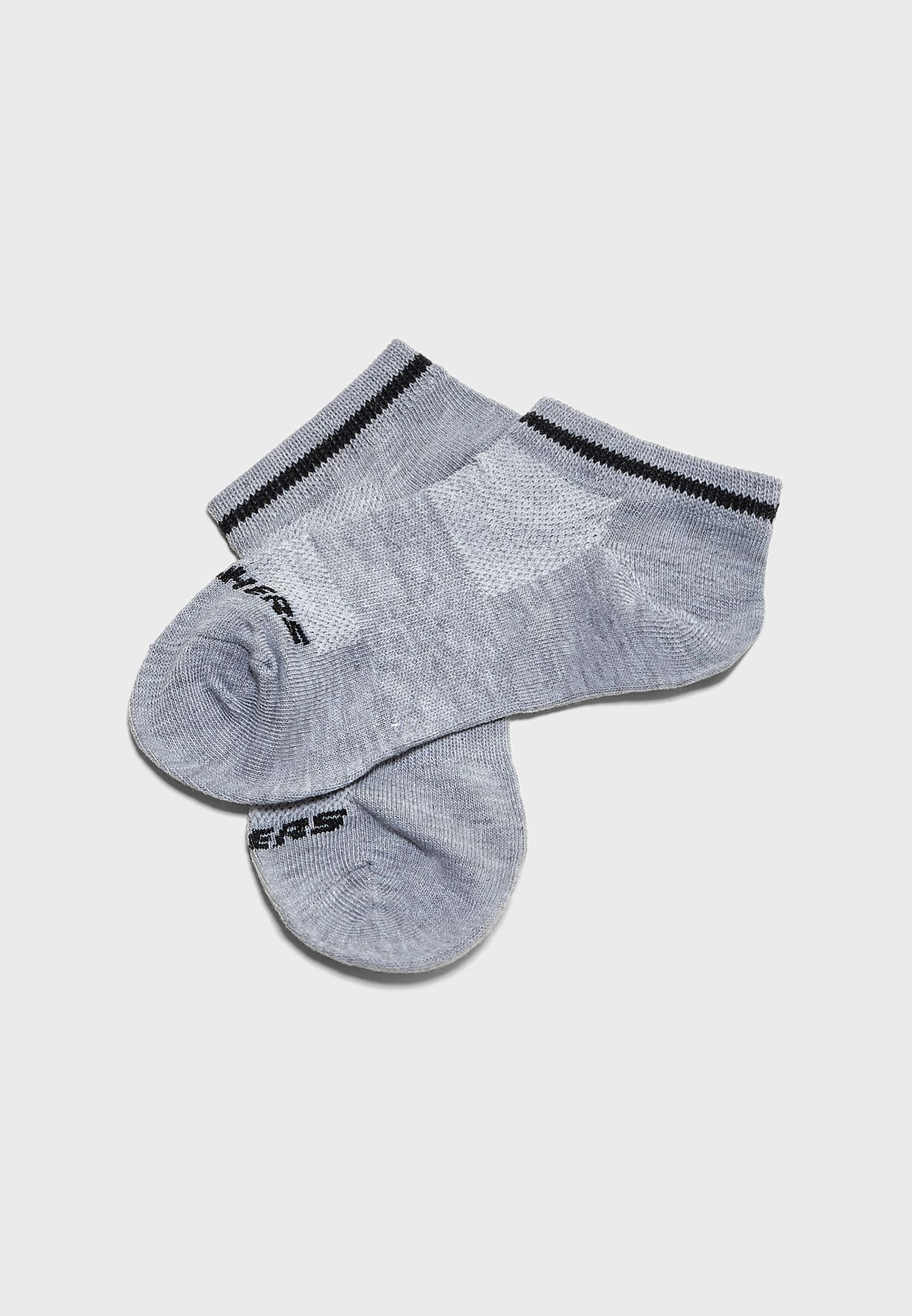 Kids 3 Pack Low Cut Socks