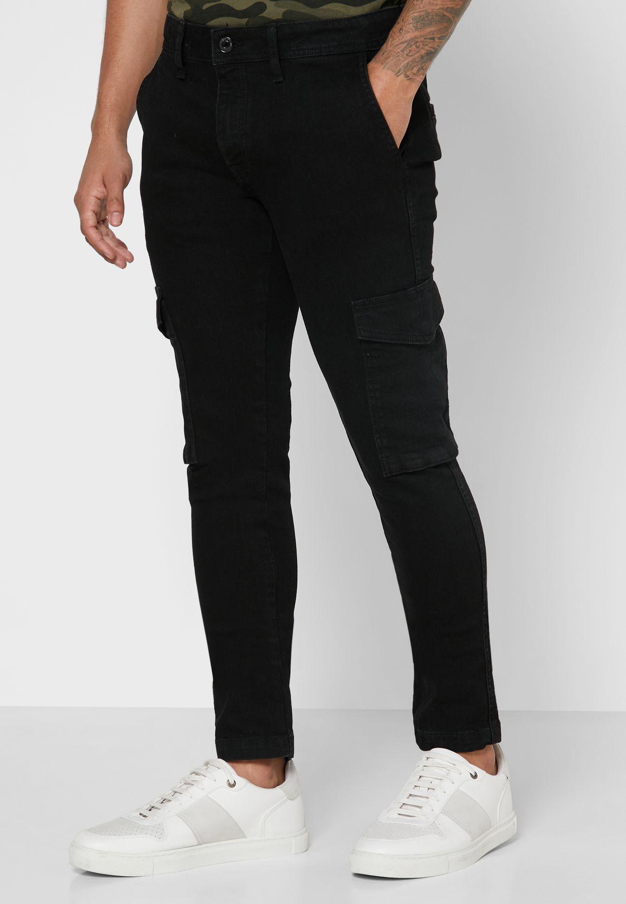 Liam Skinny Fit Cargo Pants