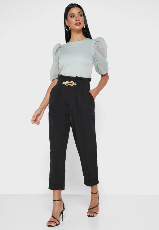 Chain Detail Pants