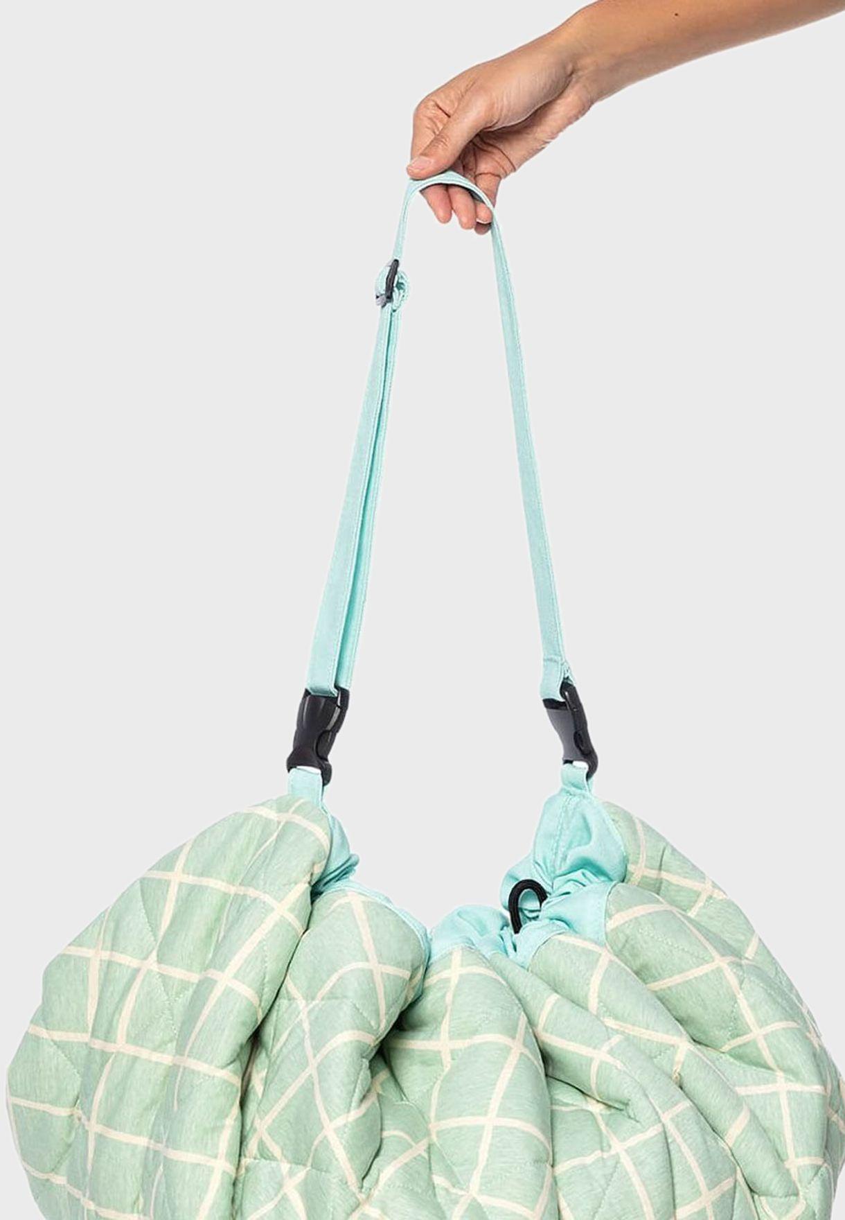 حقيبة وسجادة لعب تخزين الالعاب