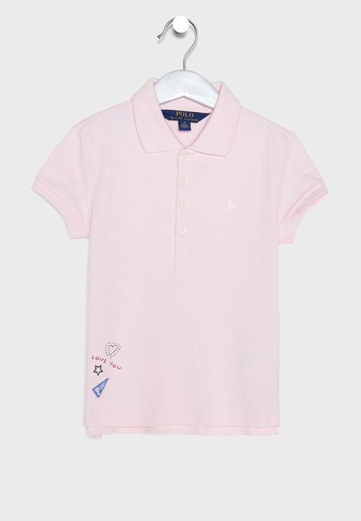 Little Logo Graphic Polo