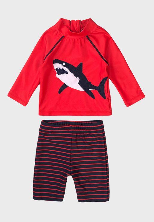 Infant Basic T-Shirt & Shorts Set