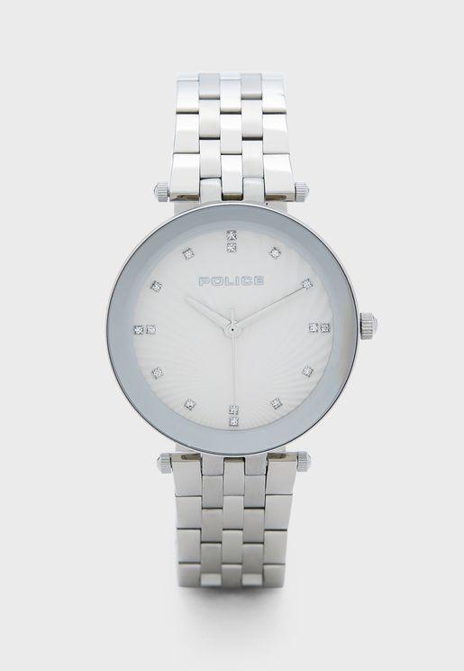 Montaria Steel Strap Watch