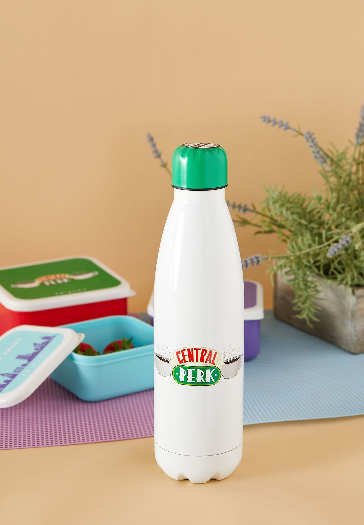 Friends Central Perk Water Bottle