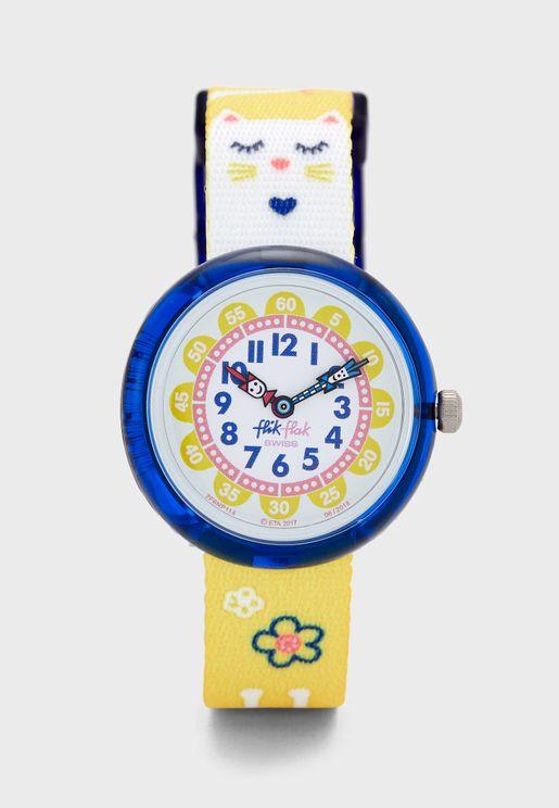 ساعة عصرية للاطفال