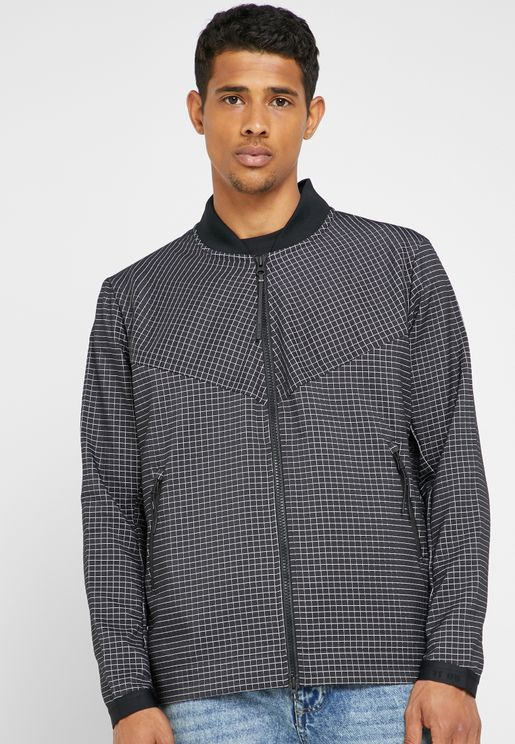 Tech Pack Grid Jacket