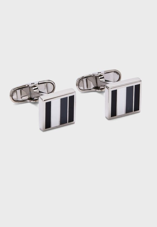 Corporate Stripes Cufflinks