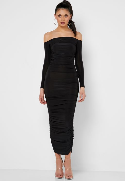 7dc2d672fa Bardot Ruched Detail Dress