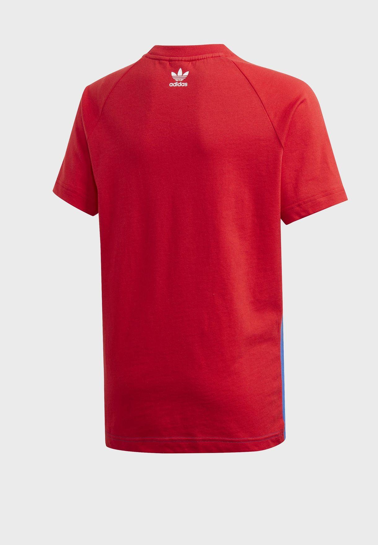 Youth adicolor Big Trefoil T-Shirt