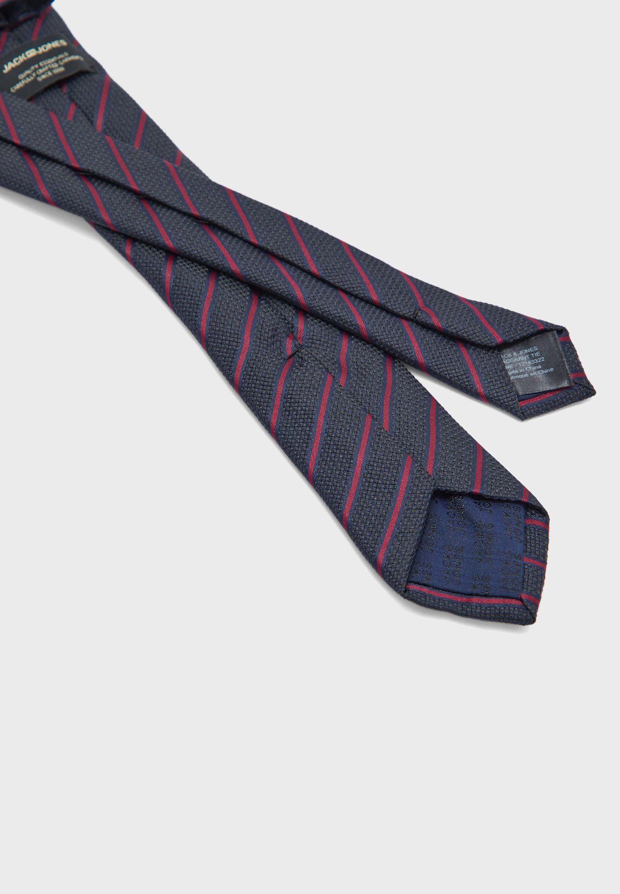 Grant Tie Narrow Stripes