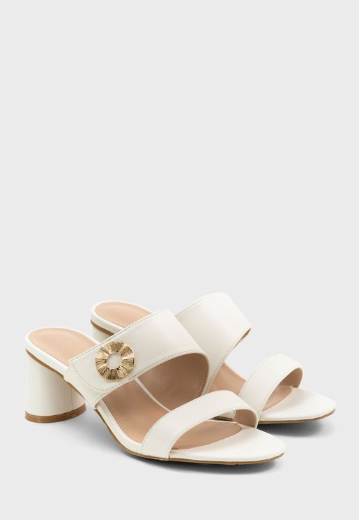 Party Block Heel Sandal